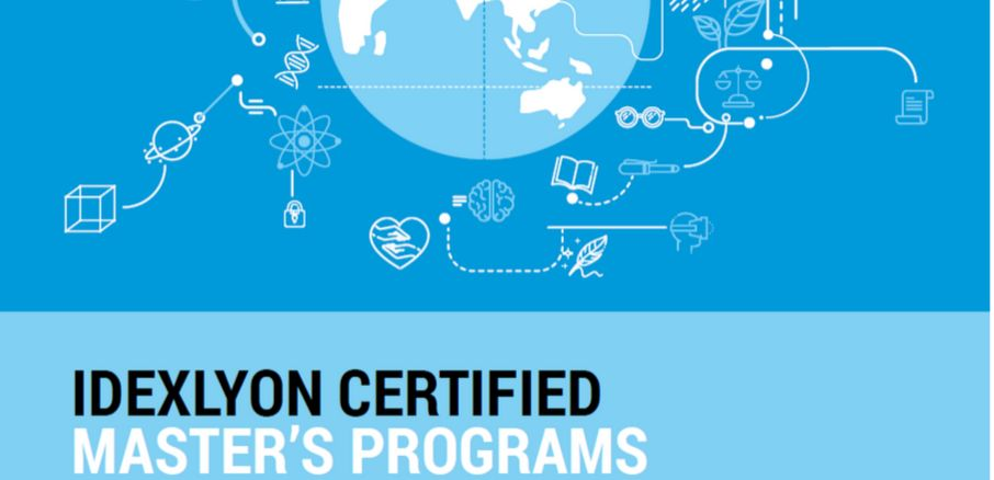IDEXLYON certified master's programs