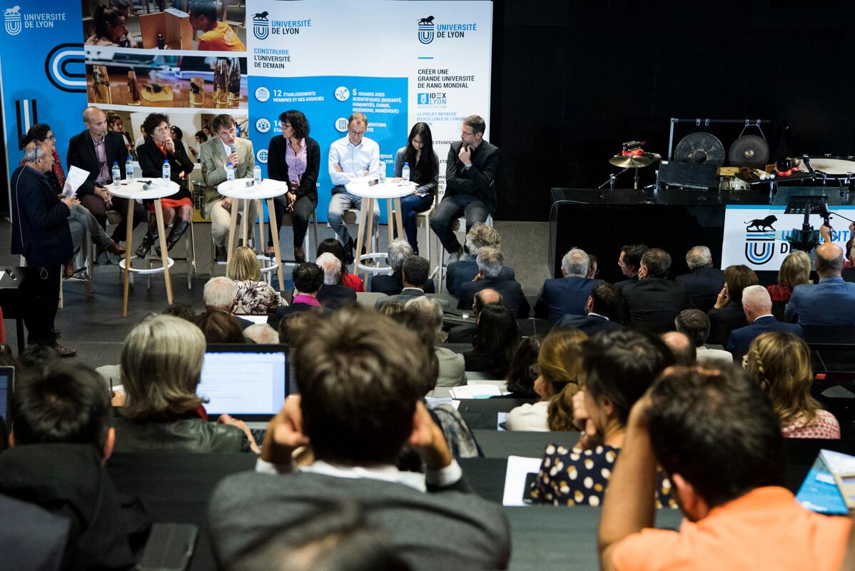 Table ronde IDEXLYON Rentrée solennelle 2018